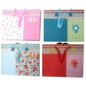 Gift Bag 3D in 4 Assorted Colors