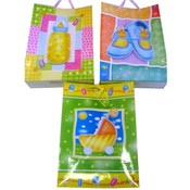 Baby Gift Bag 3D in 3 Assorted Colors