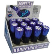 Scorpion Master 9 LED UV Flashlight - Tray