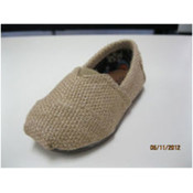 Women Casual Shoe Beige flax