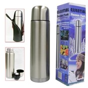 1-Liter Stainless Steel Vacuum Flask