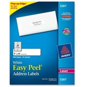 "Avery Consumer Products  Laser Labels, Mailing, 1""x4"", 500/PK, White"