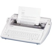 "Brother International Corp. Standard Electronic Typewriter, 16-2/5""x15-1/8""x5-1/3"", Gray"