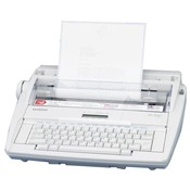 "Brother International Corp. Electronic Dictionary Typewriter,16-2/5""x15-1/8""x5-1/3"",Gray"