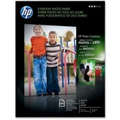 "Hewlett-Packard Photo Paper, Matte, 6.5 mil., 8-1/2""x11"", 100 Sheets, White"
