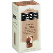 Starbucks Coffee Tazo Tea, 24/PK, Assorted (Black/Green)