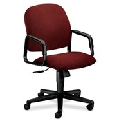 HON Company Executive High-Back Chair, 26&quot;x27&quot;x39-3/4&quot;, Burgundy