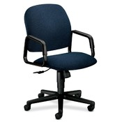 HON Company Executive High-Back Chair, 26&quot;x27&quot;x39-3/4&quot;, Blue