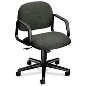HON Company Mgr. Mid-Back Swivel Chair, 26&quot;x26-1/4&quot;x35-1/2&quot;, Gray