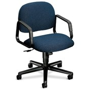 HON Company Mgr. Mid-Back Swivel Chair, 26&quot;x26-1/4&quot;x35-1/2&quot;, Blue