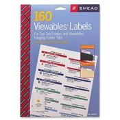 Smead Manufacturing Company  Viewable Labeling System Labels, 160/PK, White