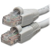 Compucessory Patch Cable, Cat 6, Snagproof, Tamper-proof, 50', Gray Wholesale Bulk