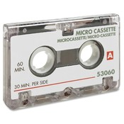 Sparco Products Dictation Cassette, Micro, 60 Minute