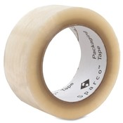 Sealing Tape, 1.6 mil, 2&quot;x110 Yards, Clear