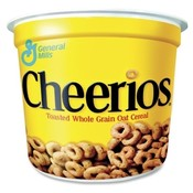 Advantus Corp. Portable Cereal-in-a-Cup, 1.30 oz., 6/PK, Cheerios