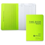 "Acco/Wilson Jones Time Book, Pocket Size, Weekly/1 Page, 6-3/4""x4-1/8"", White"