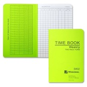 "Acco/Wilson Jones Time Book, Pocket Size, Weekly/2 Page, 6-3/4""x4-1/8"", White"