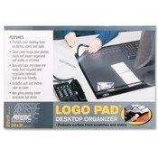 Artistic Products LLC Desk Pad w/Cover Sheet, 20'x31', Black Wholesale Bulk