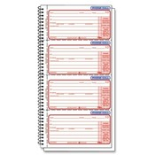 Tops Business Forms Phone Message Book, Duplicate, 11'x5-1/2', 400 Sets Wholesale Bulk