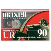 Maxell Corp. Of America Normal Bias Audio Cassette, 90 Minute