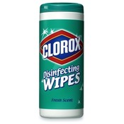 Clorox Company Disinfecting Wipes, 35 Wipes/Tub, Fresh Scent