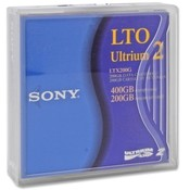 Sony Electronics LTO Ultrium Tape Cartridge, 200GB/400GB Capacity