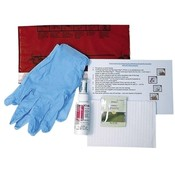 Unimed-Midwest, Inc. Emergency Kit, Spray 2oz., Gloves, Towelette sealed in bag