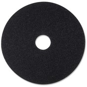 "3M Commercial Office Supply Div. Stripping Pad, 12"", 5/CT, Black"
