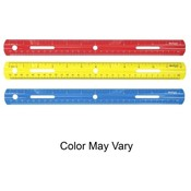 "Acme United Corporation  Plastic Ruler, 12""Long, Assorted"