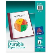 Avery Consumer Products Report Cover,w 3 Prong Fasteners,1/2' Capacity,Dark Blue Wholesale Bulk