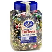 Office Snax Assorted Royal Toffees, Reclosable Jar, 2.75lb Wholesale Bulk