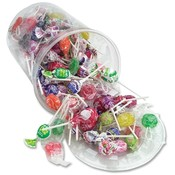 Office Snax Tub of Candy, Popular Brand Lollipops, Wholesale Bulk