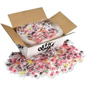 Office Snax Suckers, Lick Stix, Case Value Pack, 1440 Suckers Wholesale Bulk