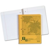 Esselte Pendaflex Corporation Notebook, 1 Sub, 80 Shts, College/ML, 11x8-1/2, Wholesale Bulk