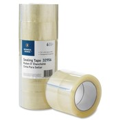 "Business Source  Packaging Tape,w/Hot Melt Adhesive,3""Core,2""x55 Yr.,6/PK,CL"