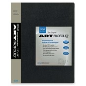 "Itoya of America, Ltd  Art Portfolio, Top Load, 24 Sleeves, 11""x14"", Black"