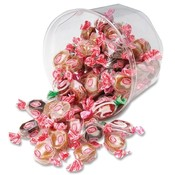 Office Snax Caramel Creams, 24 oz, Regular/Dark/Strawberry Cream Wholesale Bulk