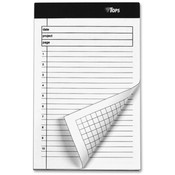 Tops Business Forms  Planning Pad,Numbered Ruled,5