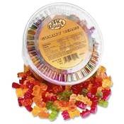 Office Snax Tub of Candy, Gummy Bear, 2 lb. Wholesale Bulk