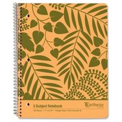 Wholesale Spiral Notebooks - Five Subject - Bulk Spiral Notebooks