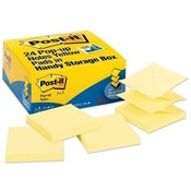 "3M Commercial Office Supply Div. Post-it Notes, Pop-up, 100 Sheets/Pad, 3""x3"", 24/PK, Yellow"
