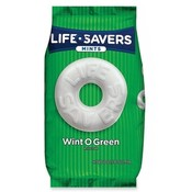 Marjack Lifesavers, Wint-O-Green Minst, 50 oz.