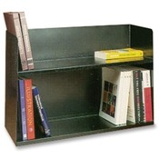 Buddy Products Book Rack, Two Tier, 30-1/8'x10-1/2'x20', Black Wholesale Bulk