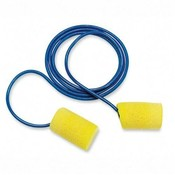 R3 Safety Classic Earplugs, Moisture-Resistant, Corded, 200/PK, YW/BE Wholesale Bulk