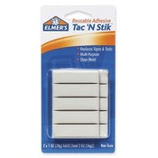 "Elmer's Products Inc  Tac 'N Stik Reusable Adhesive, Nontoxic, 2""x1 oz"