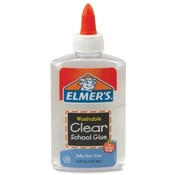 Elmer's Products Inc  School Glue, Washable, 5 oz., Clear