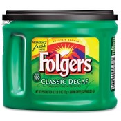 Folgers Coffee, Decaffeinated, 22.6 oz. Wholesale Bulk