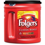 Folgers Coffee, Regular, 33.9 oz. Wholesale Bulk