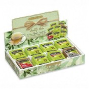 Bigelow Tea Company Green Tea Tray, 8 Assorted Teas, 64/BX