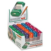 Baumgartens Sharpener w/ Eraser, 2-5/8', Assorted Wholesale Bulk